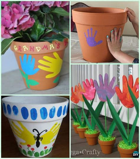 diy handprint craft gift ideas    instructions