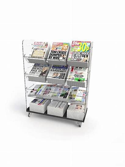 Flexible Display Tower Triple Newspaper Bartuf