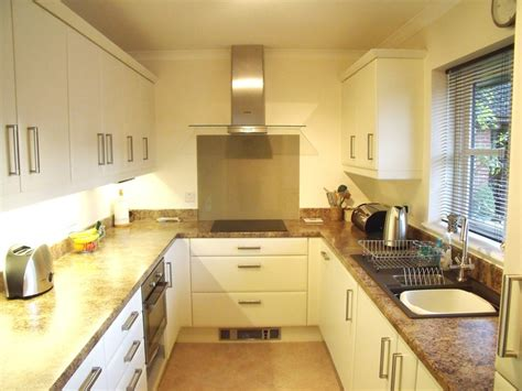 galley style kitchen ideas kitchens in andover at saxon designs weyhill andover