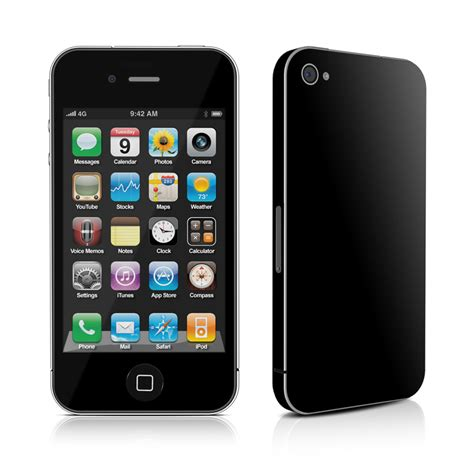 iphone 4s black solid state black iphone 4s skin istyles