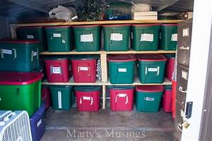 Storage, Ideas, For, Christmas, Decorations