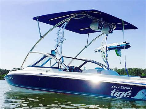 Lewis Ski Boat Reviews by Wakeboard Tower Bimini Reviews And Installation Photos