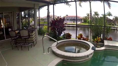 punta gorda fl waterfront pool home  sale charlotte county properties  youtube