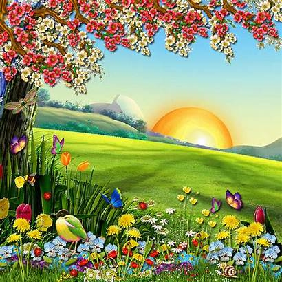 Glitter Nature Animated Backgrounds Desktop Graphics Wallpapers