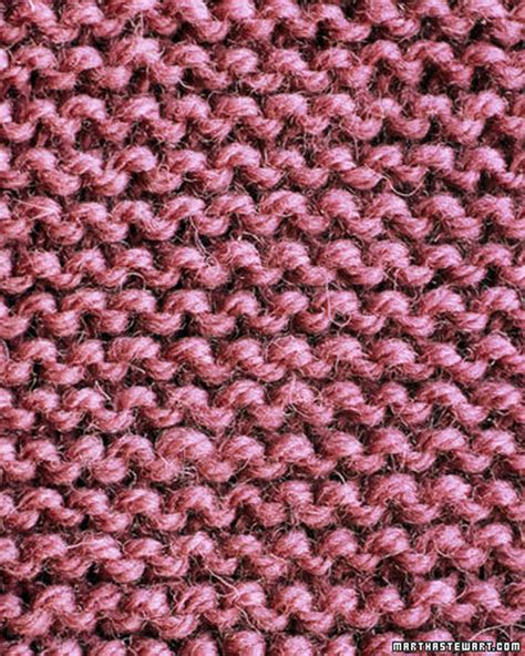 knitting basics basic scarf pattern martha stewart