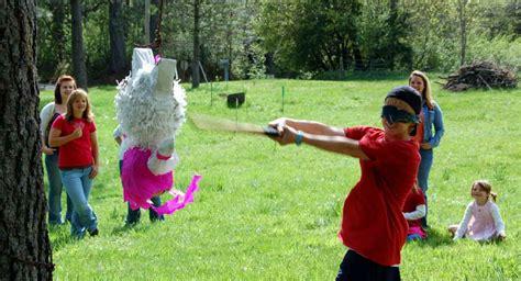 spiele für draußen kindergeburtstag pinata zum kindergeburtstag die 220 berraschung mit riesenspa 223 aktion
