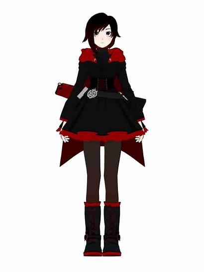 Rwby Ruby Cosplay Anime Turnaround Reference Rose