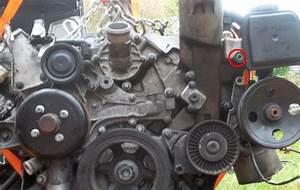 Remove    Install Power Steering Pump Mercedes Benz