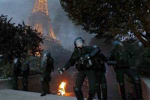 Riots Broke Out In Paris As France Loses To Portugal In