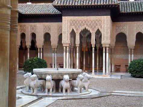 filefuente de los leones en la alhambra de granada