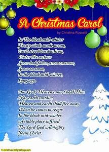 Christmas Poems For Kids – Christmas Celebration – All ...