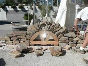 Construire Une Cave Voutée En Pierre : construction d 39 une vo te en pierre s che septembre 2012 ~ Zukunftsfamilie.com Idées de Décoration