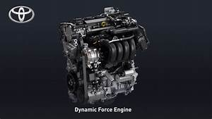 Toyota 2 0-liter Dynamic Force Engine