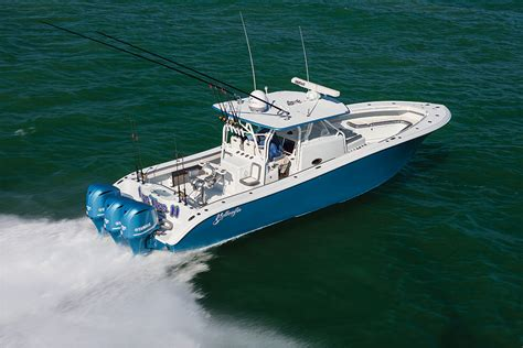 Yellowfin Boats Review by Yellowfin 42 Center Console Salt Water Sportsman