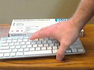Bluefinger Wireless Bluetooth Keyboard White Model Appk78