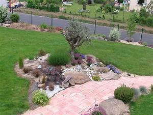 decoration jardin avec olivier With idees de jardins paysagers