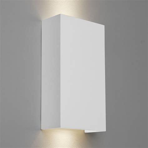 astro sku35239i4l pella 190 gu10 plaster wall light ideas4lighting