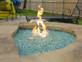 Decorative Fire Glass Patio Chimney Fire Pit Types