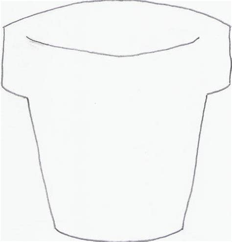 flower pot template the gallery for gt flower pot cover template