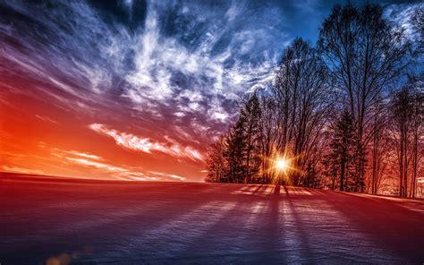 Winter Landscapes 4k Uhd Wide Wallpaper  Hd Wallpapers