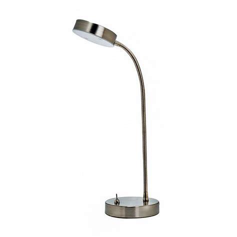 desk with led lights shop utilitech 13 25 in adjustable stainless steel led