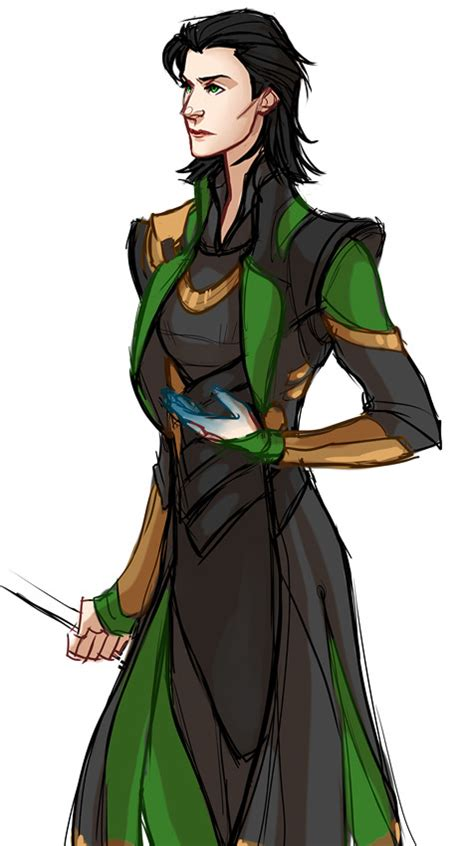 A Quick Female Loki Since She Wasnt Invited To Mj