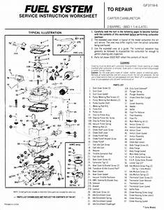 27 Carter 2 Barrel Carburetor Diagram