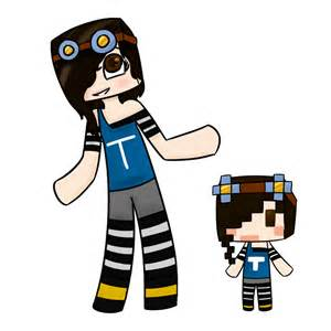 Girl Minecraft Skin Drawings