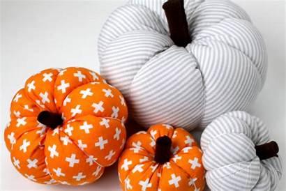 Pumpkin Fabric Easy Tutorial Diy Sew