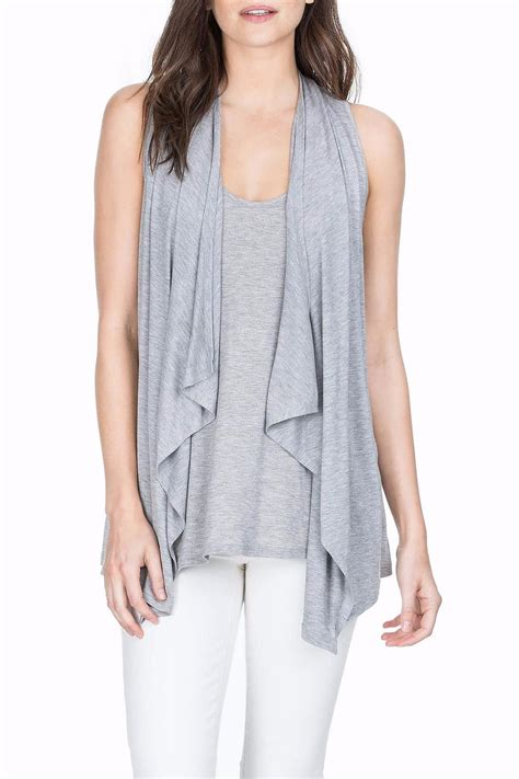 Drape Vest - lilla p soft draped vest from massachusetts by sundance