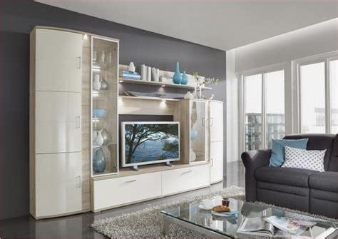 Moderne Häuser Wohnzimmer moderne wohnzimmer schrankwand
