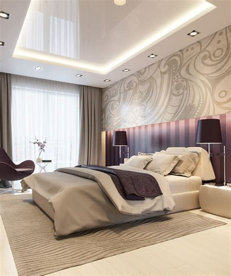 20 Master Bedrooms With Purple Accents  Home Design Lover