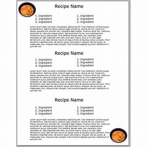 17 best ideas about cookbook template on pinterest With free recipe template for cookbook