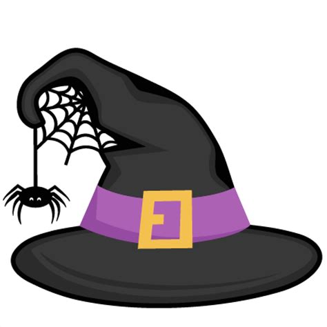 Witch Hat Clipart Witch Hat Svg Scrapbook Cut File Clipart Files For