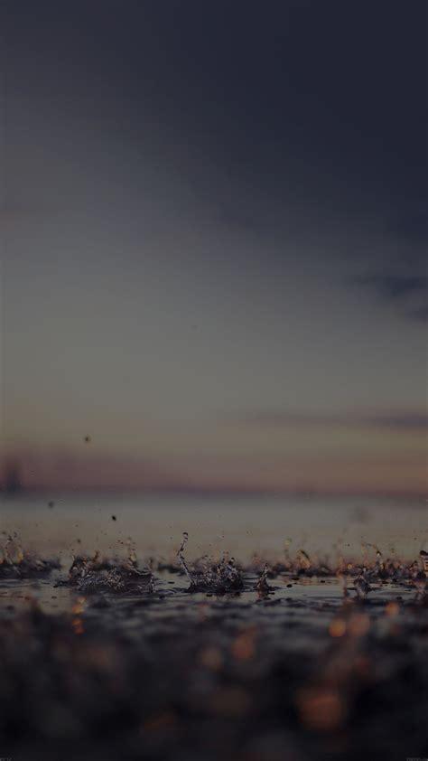 papersco iphone wallpaper mf rain drop  dark