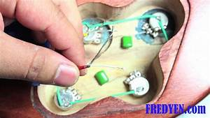 Diy Les Paul Guitar Kit  Part 6  Wiring The Pickups
