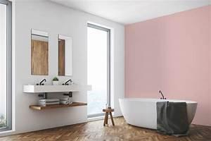 Couleur Mur Salle De Bain : peinture salle de bain les couleurs tendance c t maison ~ Dode.kayakingforconservation.com Idées de Décoration