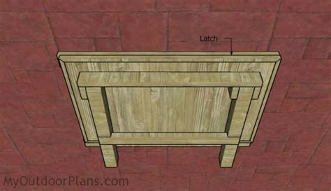 wall mounted folding workbench plans myoutdoorplans