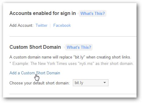 Bit Ly Vanity Url by Custom Url Shortener Url With Bit Ly Custom Domain