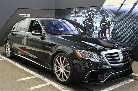 Iseecars.com analyzes prices of 10 million used cars daily. New 2019 Mercedes-Benz S63 AMG 4MATIC+ Sedan for sale - $185702.0 | Mercedes-Benz Blainville