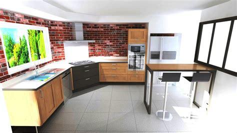 table de cuisine d angle cuisine avec cuisson d 39 angle style industriel à aubie