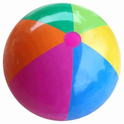 Ball Beach Balls Rainbow Pool Transparent Clipart