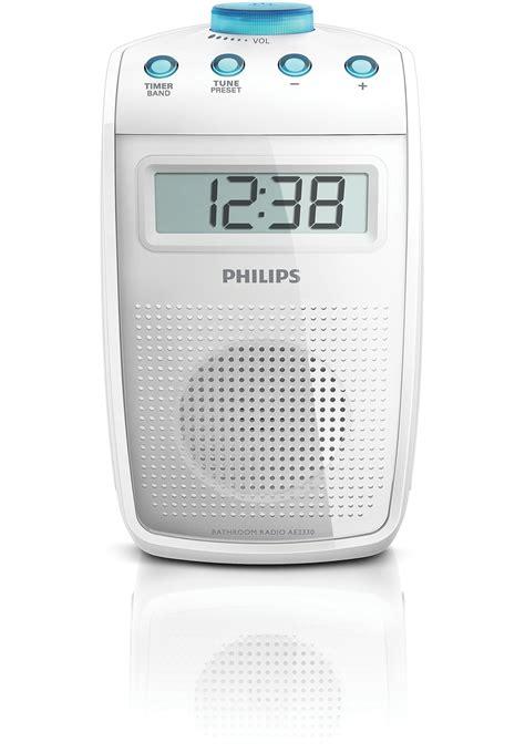 radio salle de bains radio de salle de bains ae2330 00 philips