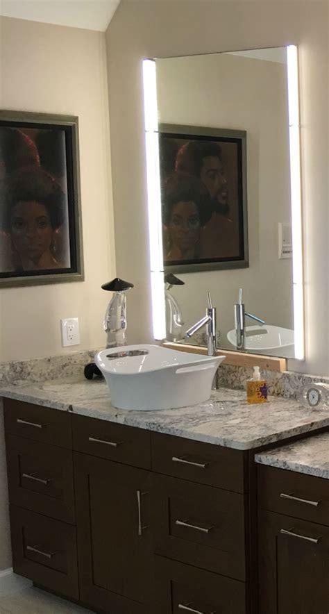 mirror lighting ad glass mirror