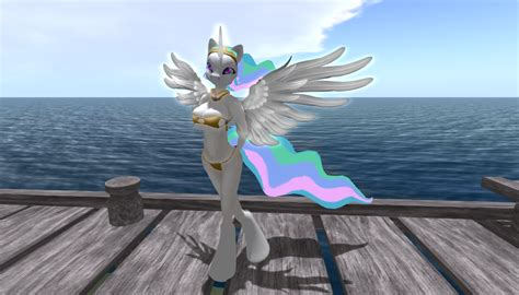 anthro princess celestia by bangayo on deviantart