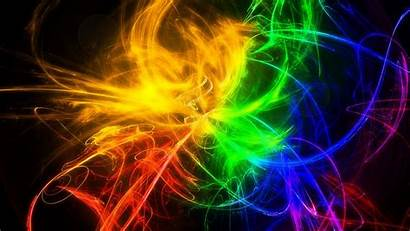 Bright Cool Wallpapers Colored Multi Smoke Lines