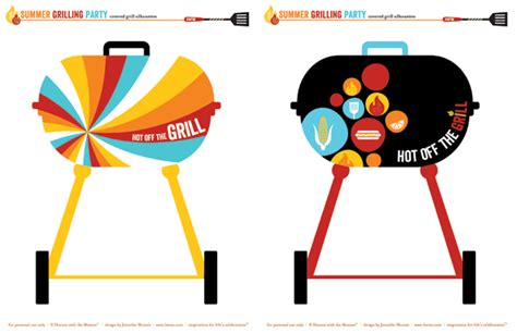 bbq border template    clipartmag