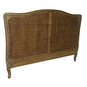 french style shabby chic cane bed headboard king size in