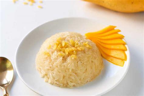Thai Mango Sticky Rice Dessert Recipe • Leelalicious