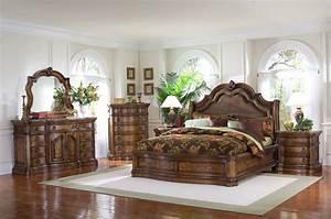 Pulaski Furniture San Mateo 4-Pc Sleigh Bedroom Set